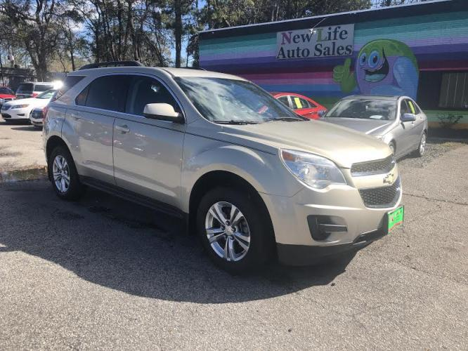 2011 SILVER CHEVROLET EQUINOX LT (2CNALDEC6B6) with an 2.4L engine, Automatic transmission, located at 5103 Dorchester Rd., Charleston, SC, 29418-5607, (843) 767-1122, 36.245171, -115.228050 - Photo #0