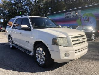2007 FORD EXPEDITION LIMITED 4WD -  Comfortable Interior with Seating for 8! Clean CarFax!!