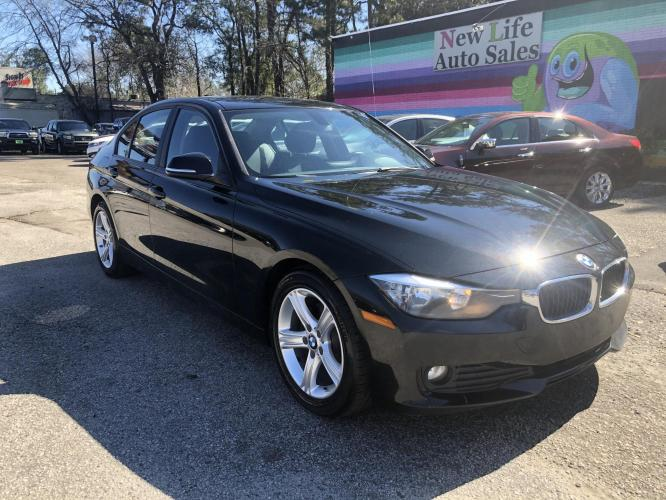 2013 BLACK BMW 320 I (WBA3B1C52DF) with an 2.0L engine, Automatic transmission, located at 5103 Dorchester Rd., Charleston, SC, 29418-5607, (843) 767-1122, 36.245171, -115.228050 - Photo #0