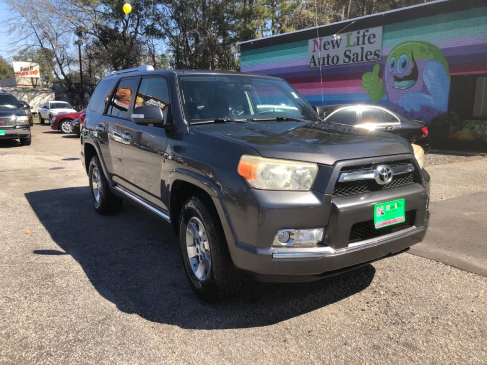 2010 GRAY TOYOTA 4RUNNER SR5 (JTEZU5JR9A5) with an 4.0L engine, Automatic transmission, located at 5103 Dorchester Rd., Charleston, SC, 29418-5607, (843) 767-1122, 36.245171, -115.228050 - Photo #0