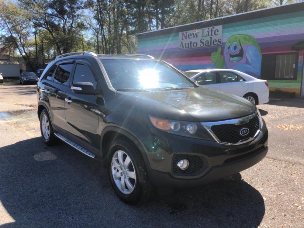 2012 BROWN KIA SORENTO BASE (5XYKT4A69CG) with an 2.4L engine, Automatic transmission, located at 5103 Dorchester Rd., Charleston, SC, 29418-5607, (843) 767-1122, 36.245171, -115.228050 - Photo #0