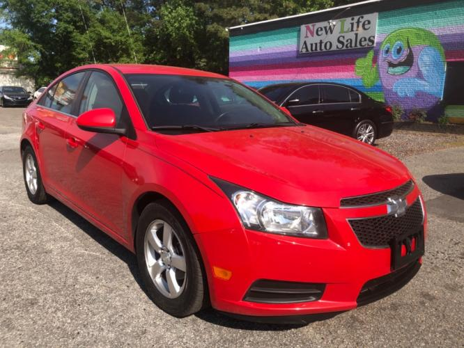 2014 CHEVROLET CRUZE LT - Low Miles! Fuel Efficient! Local Trade-in!!